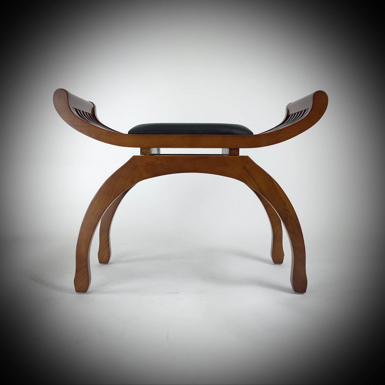 Carleton Solid Wood Vanity Stool Reviews Joss Main