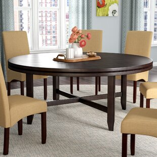 Seat Round Kitchen Dining Tables Youll Love Wayfair - Round dining table with leaf seats 8