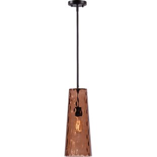 Wildon Home ® Arielle 1-Light Cone Pendant