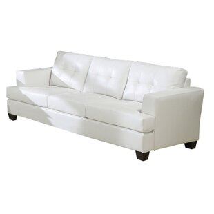 Review Hoadley Upholstered 3 Seater Sofa by Red Barrel Studio