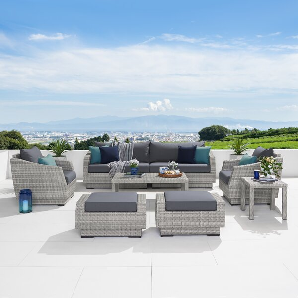 Wade Logan Castelli (2 ottomans) outdoor   Item# 6950