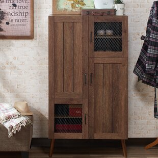 20 Pair Shoe Storage Cabinet By Gracie Oaks