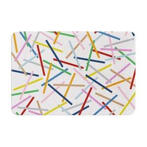 Project M Sprinkles Memory Foam Bath Rug