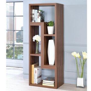 Wrought Studio Dabbs Wooden Corner Unit Bookcase