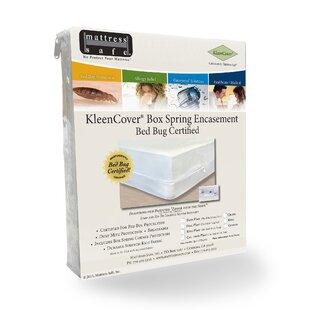 KleenCover Stretch Knit Hypoallergenic Waterproof Box Spring Cover