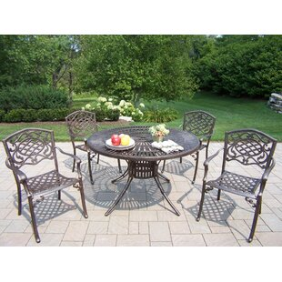 Oakland Living Sunray Mississippi 5 Piece Dining Set
