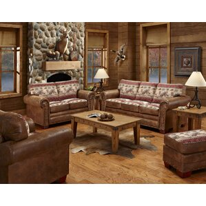 American Furniture Classics Deer Valley 4 Piece Living Room Set