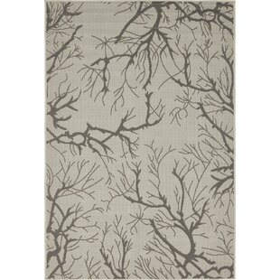 Alviso Light Gray Indoor/Outdoor Area Rug