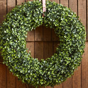 16 5 Faux Boxwood Wreath