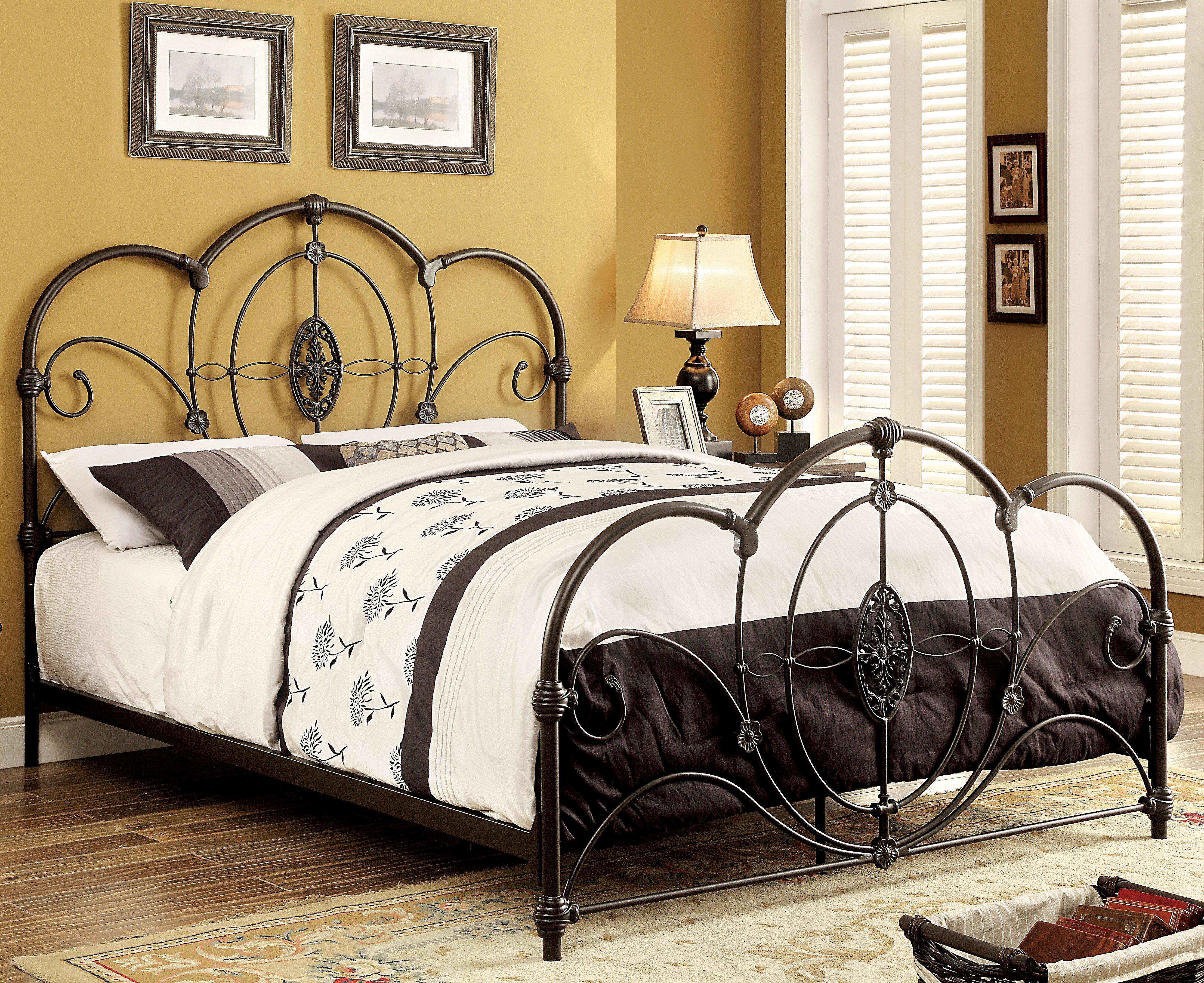 fleur de lis living doreen panel bed reviews wayfair