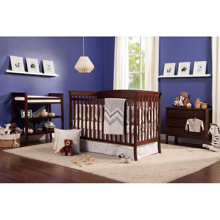 Tyler 4 In 1 Convertible 5 Piece Nursery Furniture Set