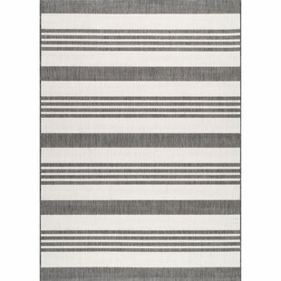 Best Reviews Haws Beige/White Indoor/Outdoor Area Rug By Wrought Studio