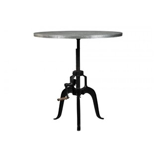 Baston Metal Crank Dining Table