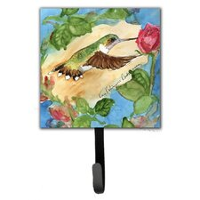 Hummingbird Leash Holder and Wall Hook by Caroline's Treasures