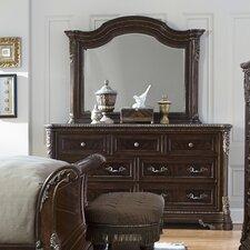 Hepburn 7 Drawer Dresser with Mirror by Astoria Grand
