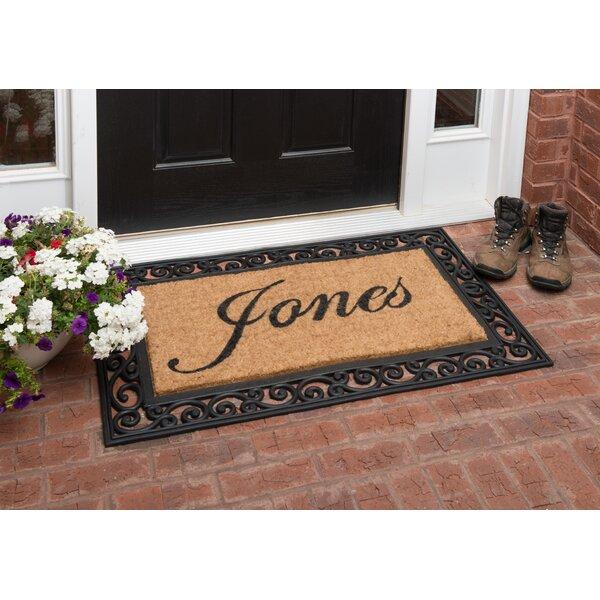 nance industries yourown custom rubber welcome doormat u0026 reviews wayfair