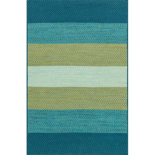 Elegant Loloi Rugs Garrett Hand Braided Blue/Green Indoor/Outdoor Area Rug U0026  Reviews | Wayfair