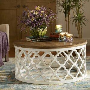 bohemian coffee tables you'll love | wayfair