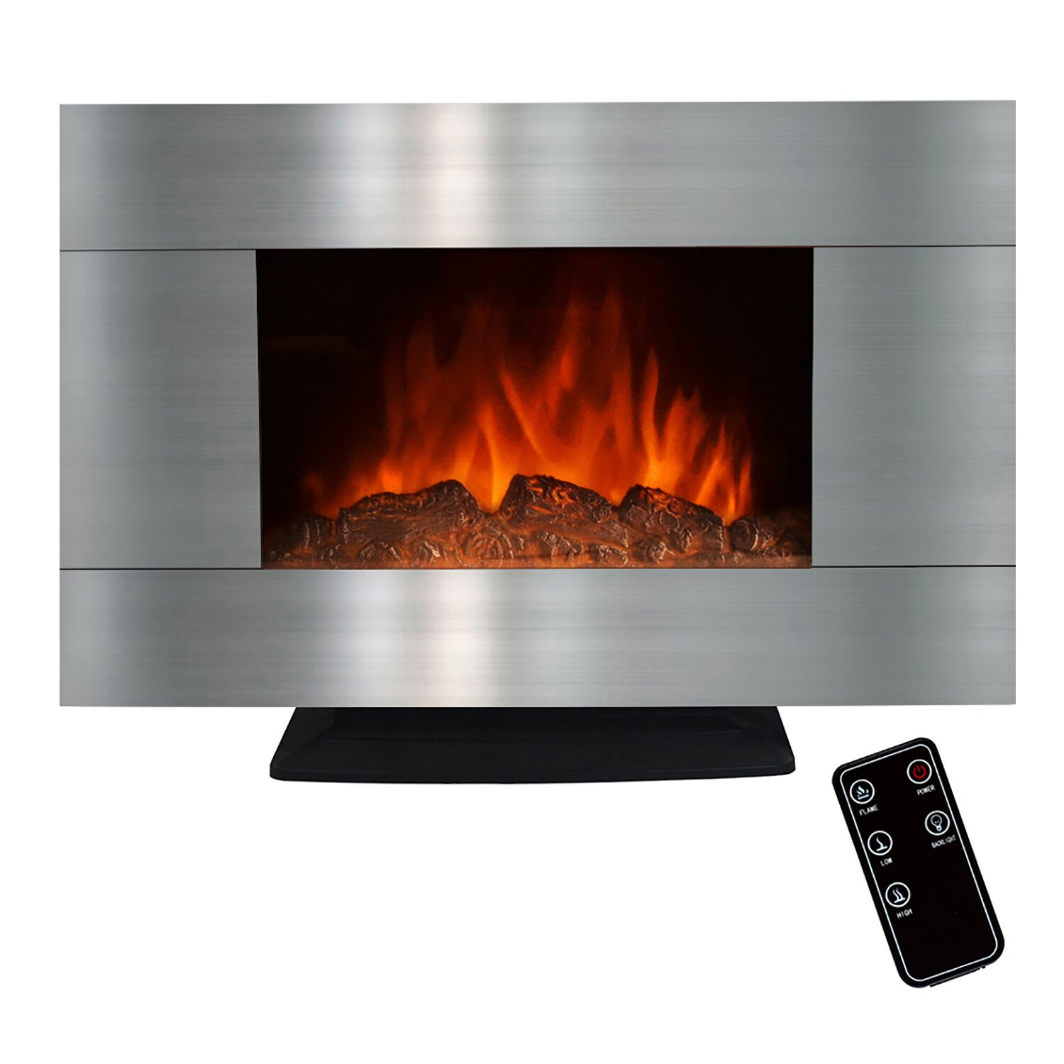 akdy electric fireplace reviews wayfair - Free Standing Electric Fireplace