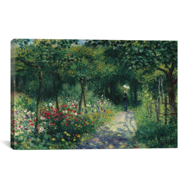 Icanvas 39 femmes dans un jardin 1873 39 by pierre auguste for Jardin 85