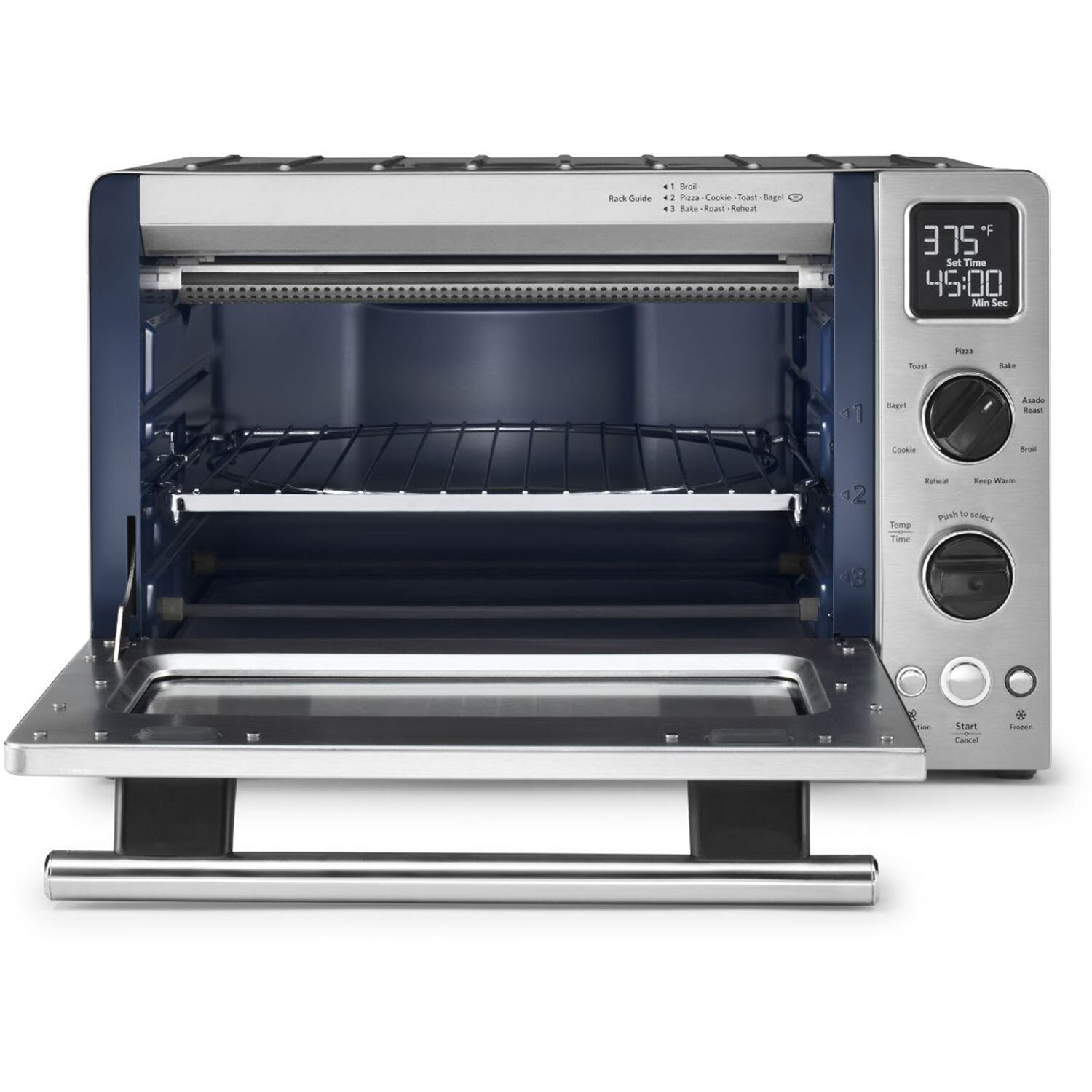 KitchenAid 1 Cubic Foot Stainless Steel Convection Countertop Oven ...