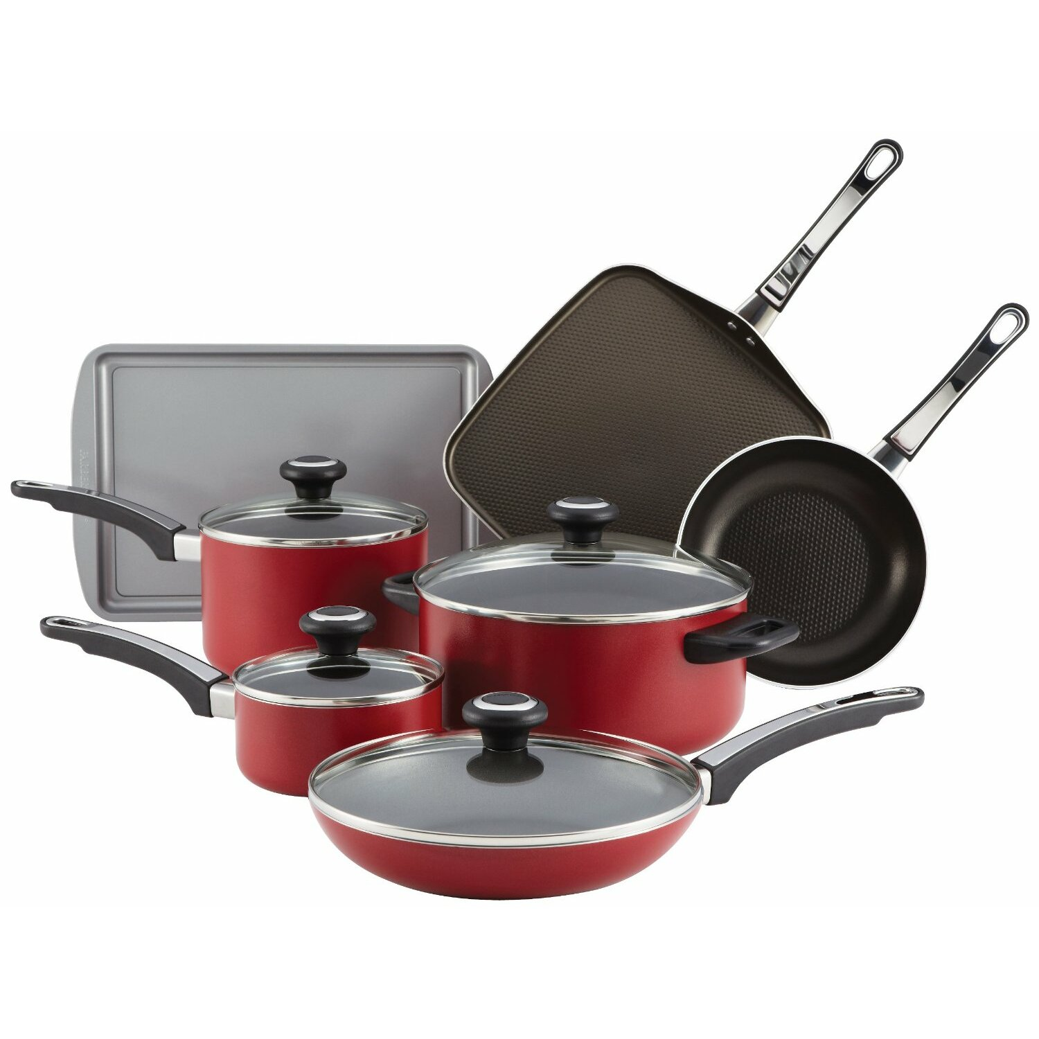 cookware farberware induction cookware farberware 12 piece ...