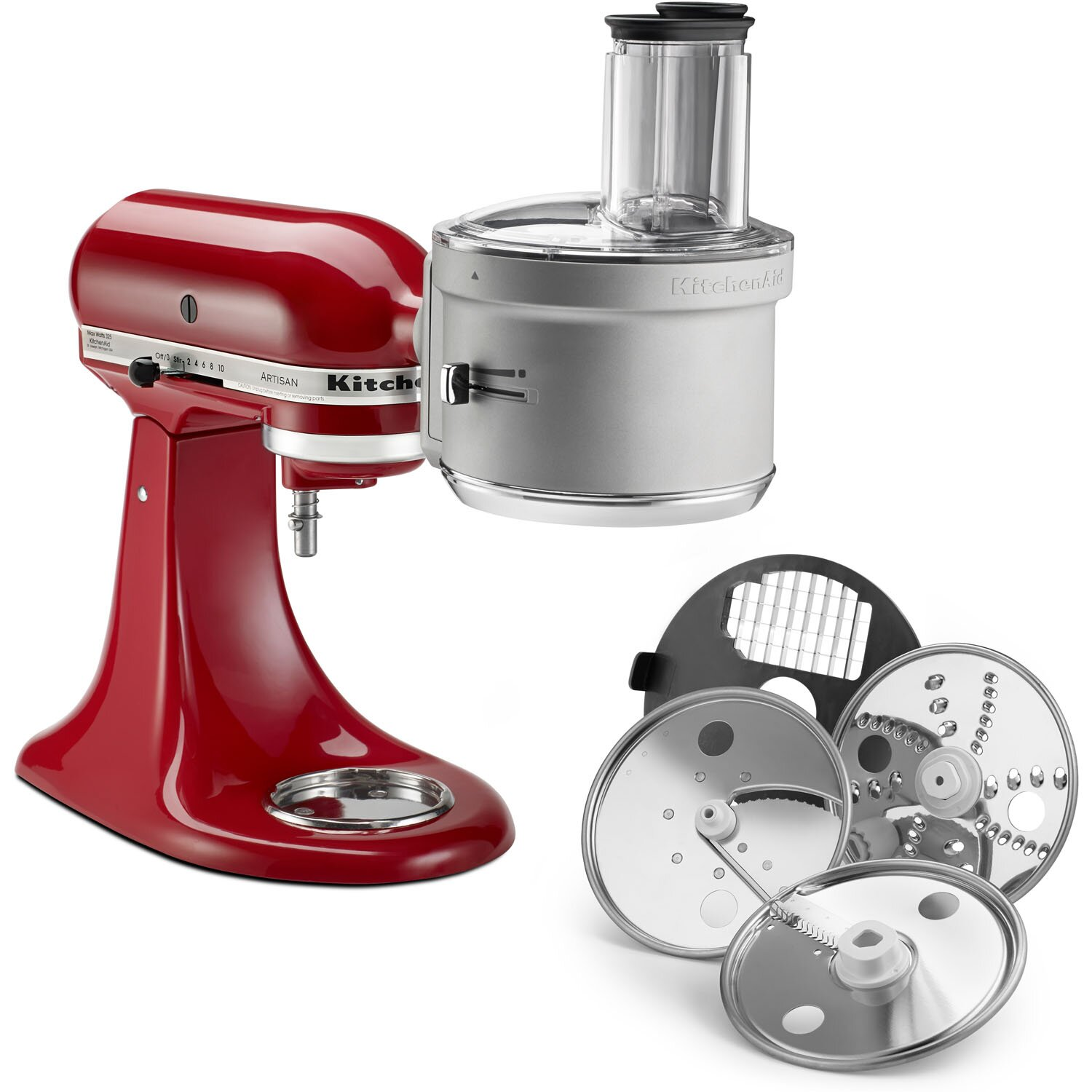 KitchenAid Food Processor Attachment with Dicing Kit & Reviews ...