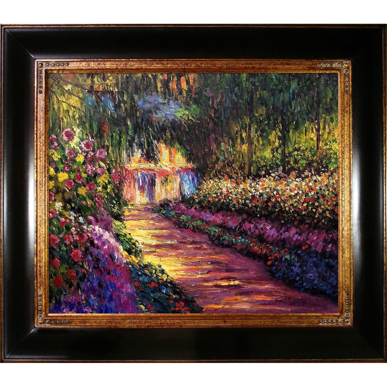 Cat In Monet S Garden By Claude Monet