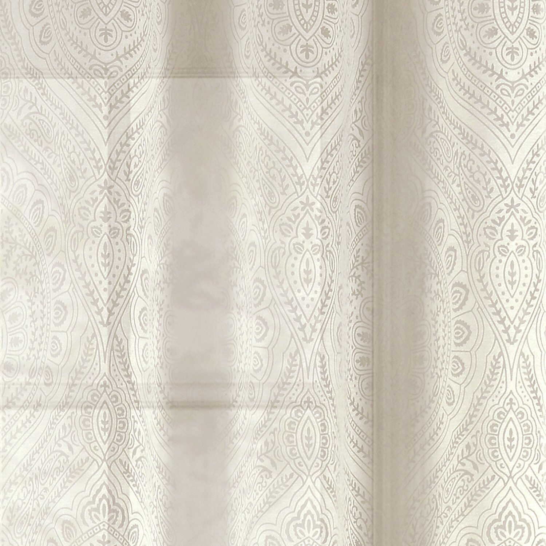 Window Elements Elena Damask Sheer Curtain Panels Reviews Wayfair.ca
