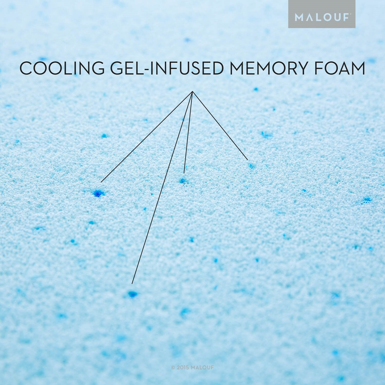 Malouf Z Gel Infused Memory Foam Wedge Pillow Amp Reviews