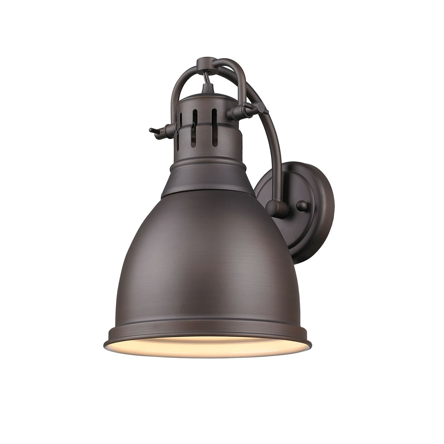 Beachcrest Home Bodalla 3 Light Metal Vanity Light Reviews: Beachcrest Home Bodalla 1-Light Rubbed Bronze Wall Sconce & Reviews