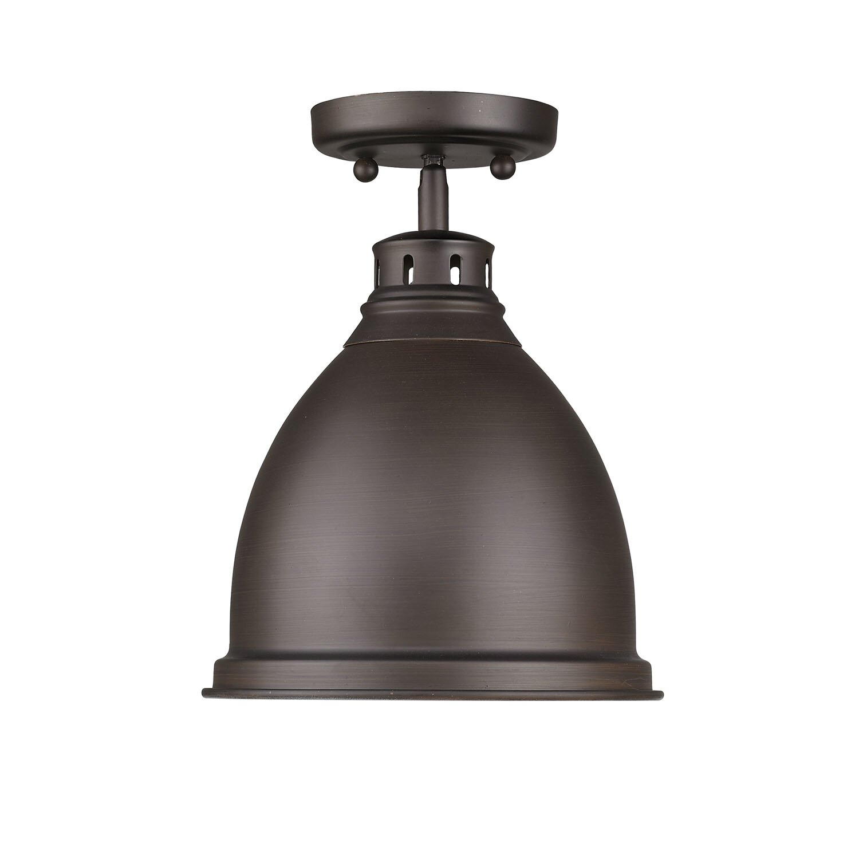 Flush mount outdoor lighting - Bodalla 1 Light Outdoor Semi Flush Mount