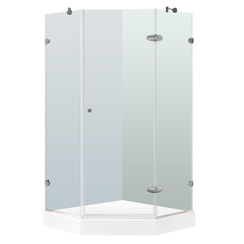 neo angle shower doors