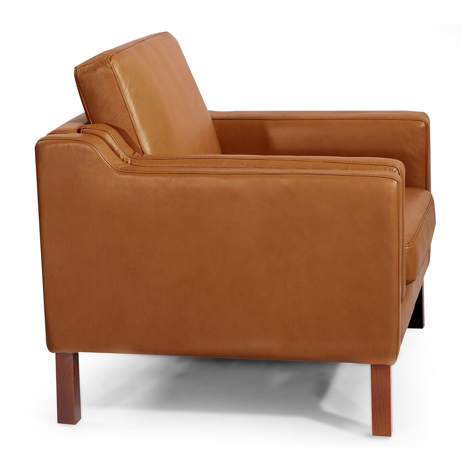 Modern leather club chair the image kid for Modern leather club chair