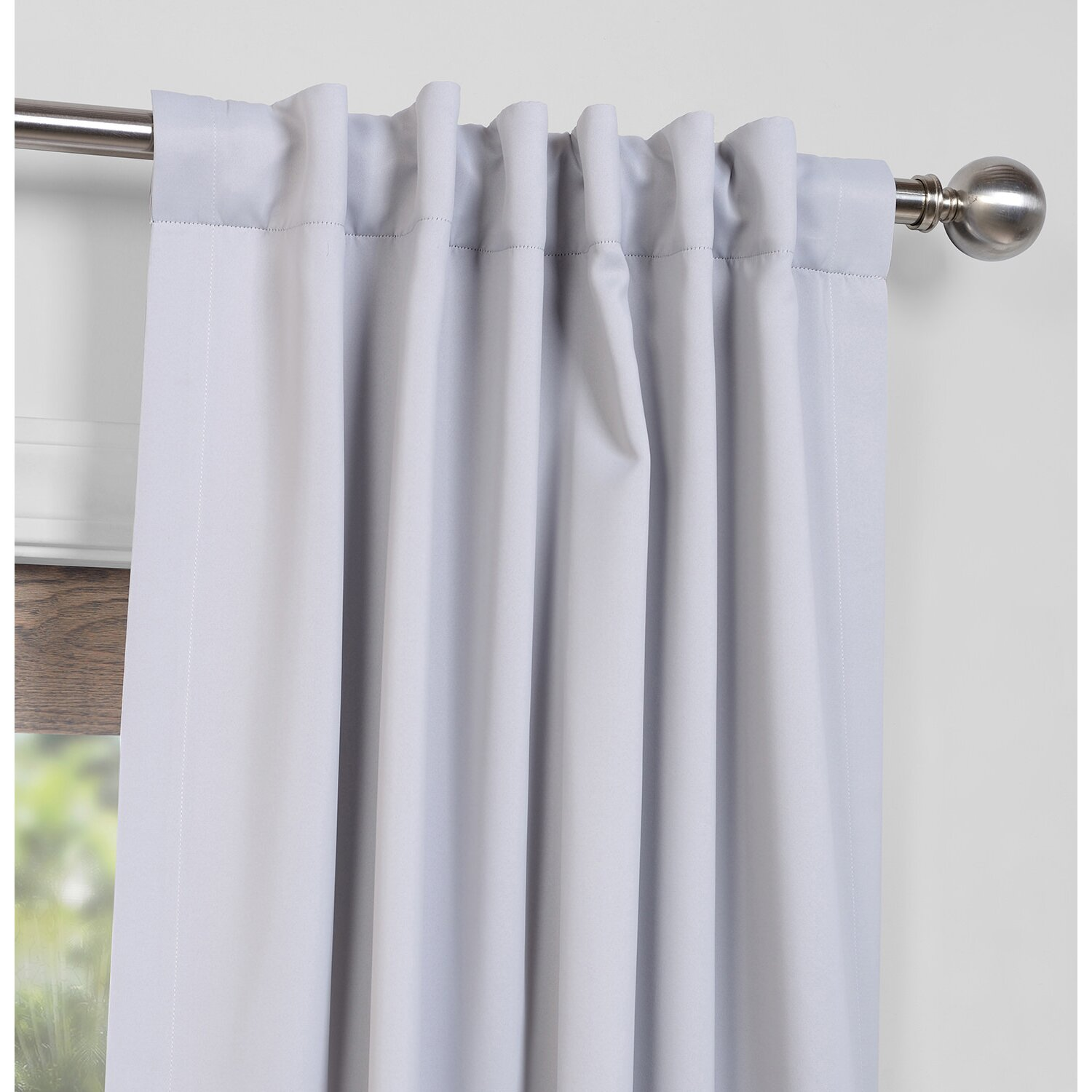 blackout thermal rod pocket curtain panels reviews