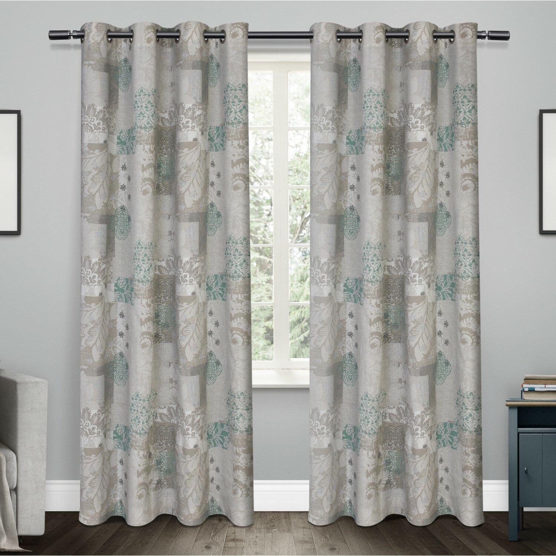 Amalgamated Textiles Patchwork Semi Sheer Curtain Panels Reviews