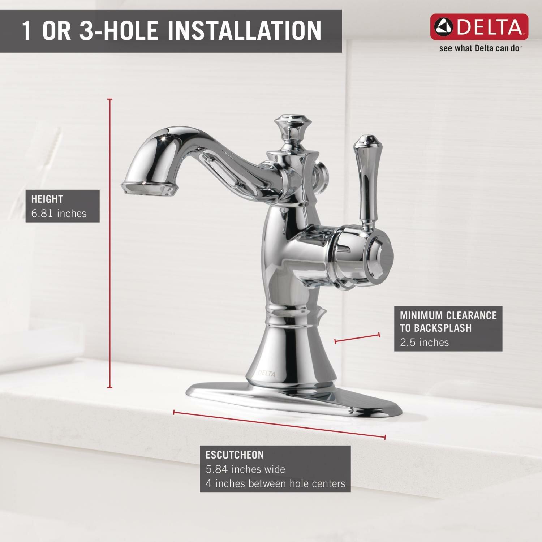 Colony PRO SingleHandle Centerset Bathroom Faucet American