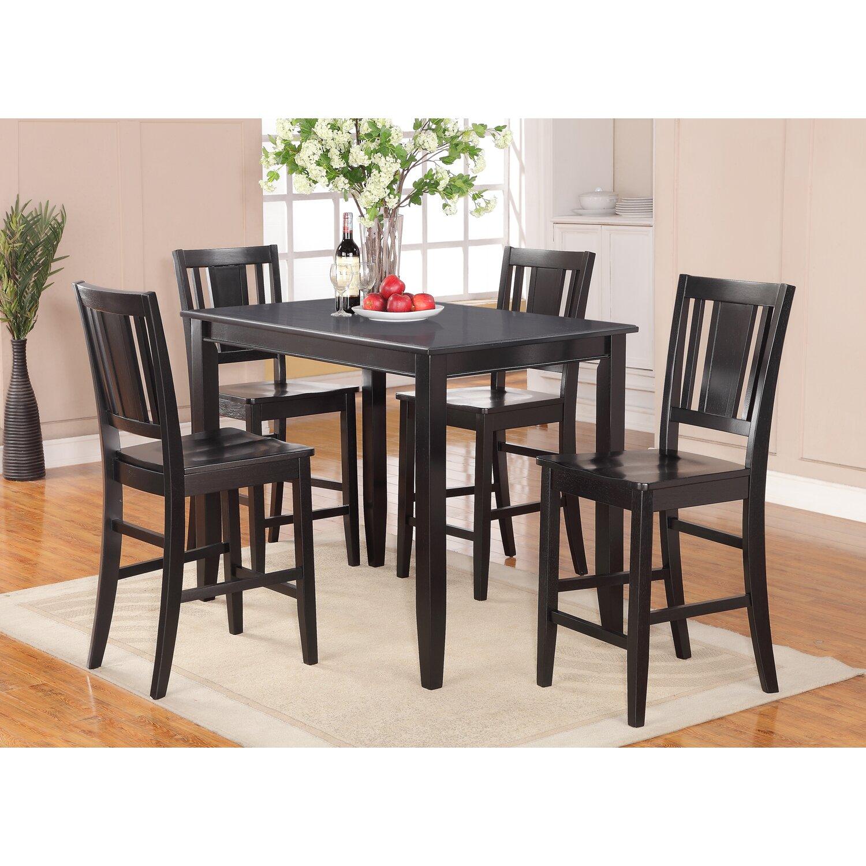 lightner 5 piece counter height dining set - Dining Room Table Height