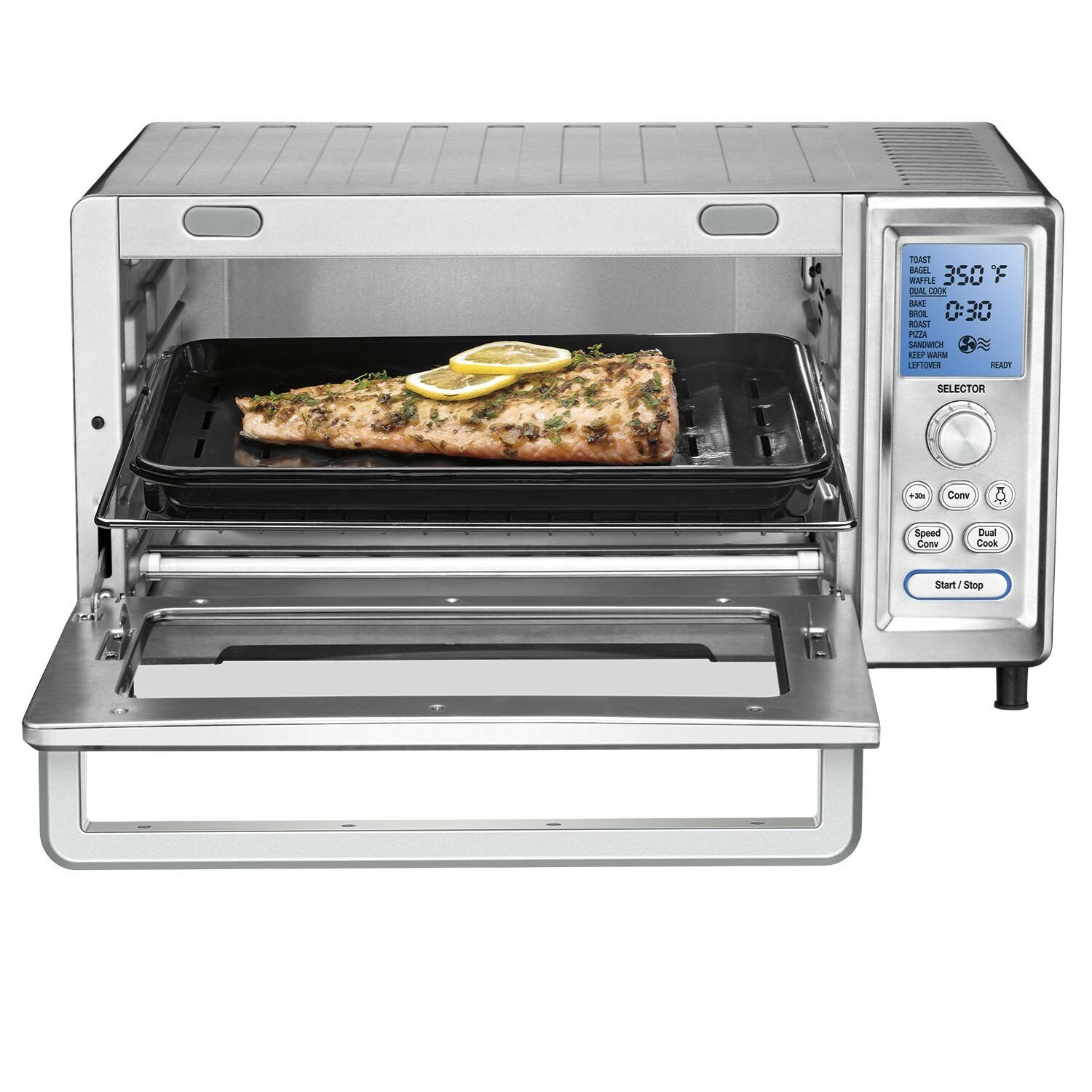 Cuisinart 0.95 cu. ft. Chef's Convection Oven and Broiler ...