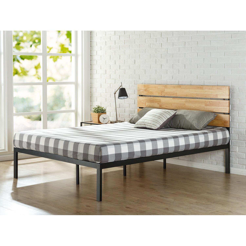 Room and board platform bed - Sonoma Metal Wood Platform Bed