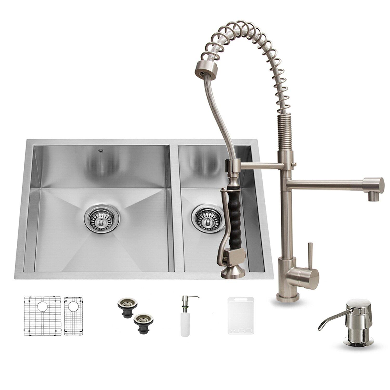 27 undermount kitchen sink