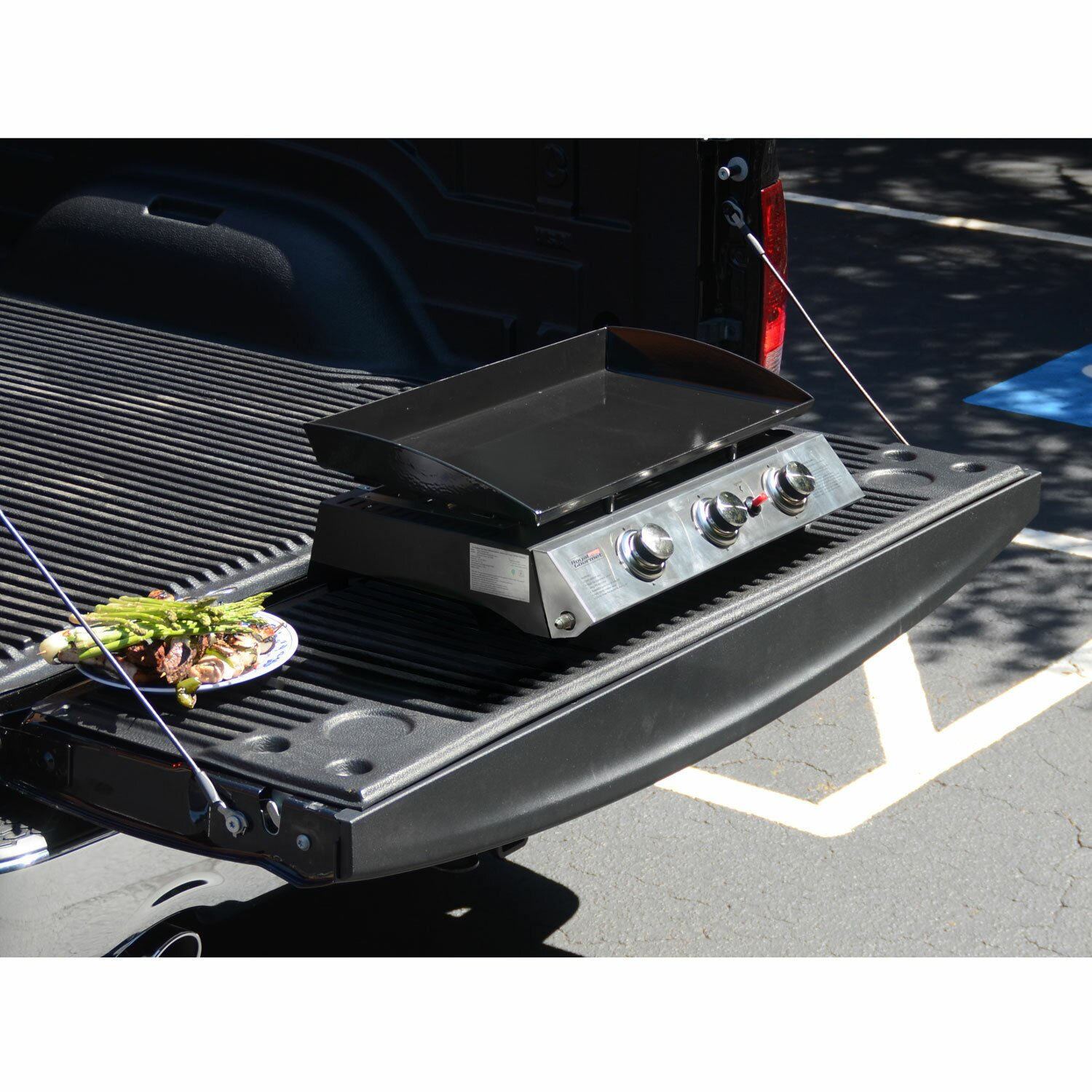 Royal Gourmet Portable Propane Gas Griddle Grill with Triple ...