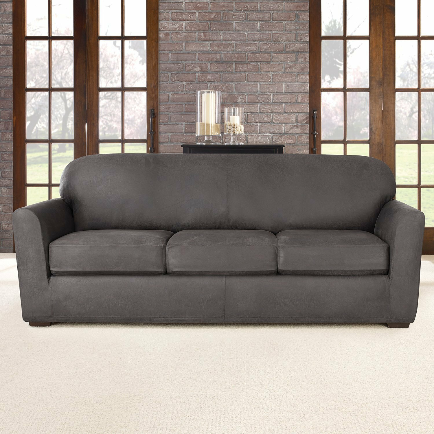 Brown Leather Sofa Covers Picture 25 Sectional Leather Sofa