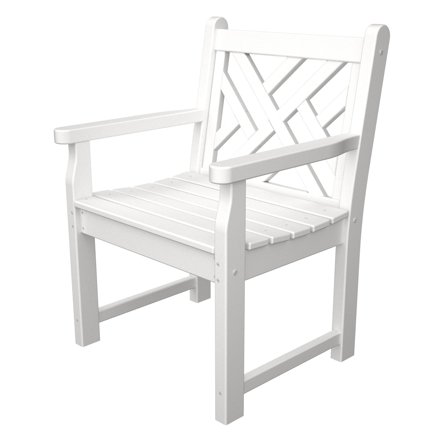 Chippendale arm chair - Chippendale Garden Arm Chair