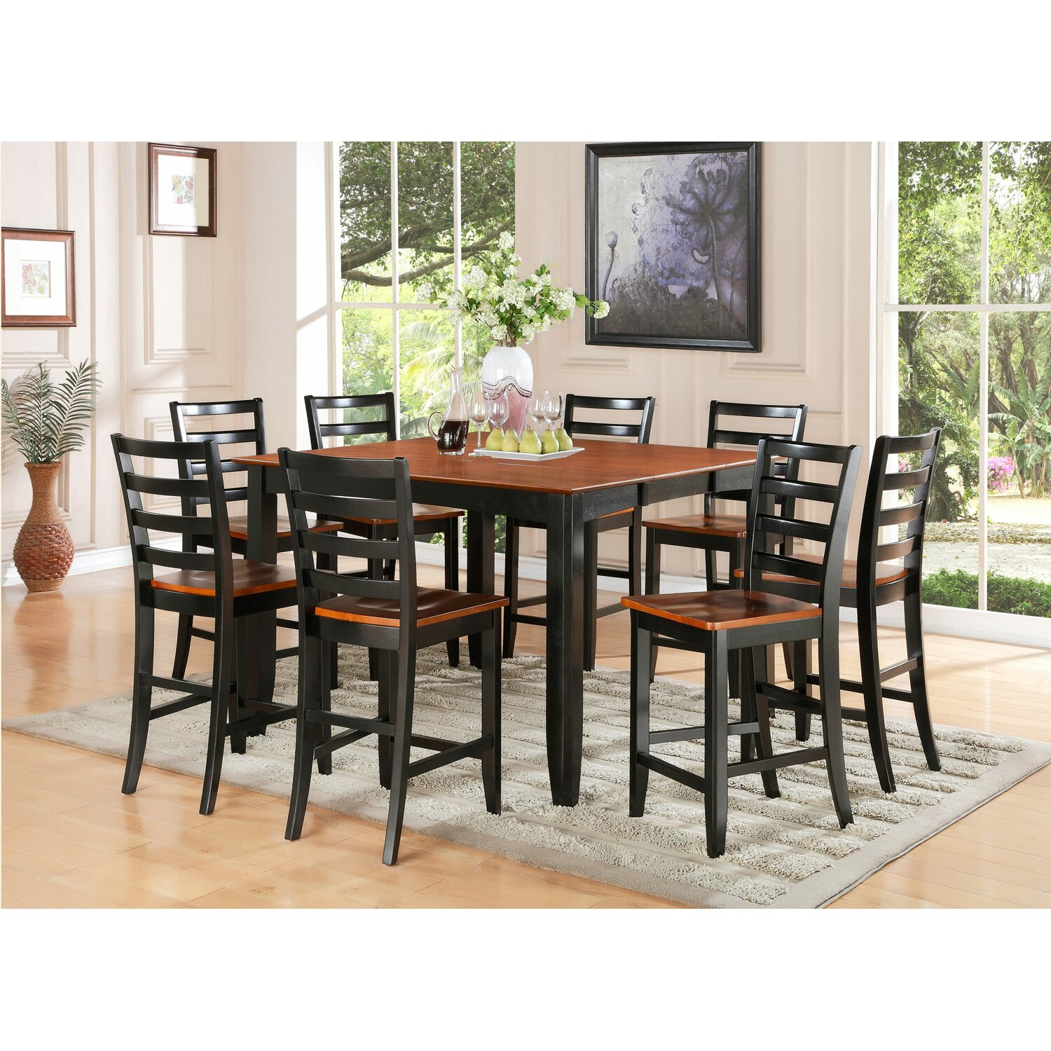 Black counter height dining room sets - Black Counter Height Dining Room Sets 51