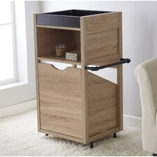 Collinsworth Pull Out Hamper 17.63 W x 34.38 H Cabinet by Ivy Bronx