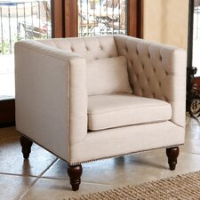 Rodriques Tufted Nailhead Trim Armchair by Darby Home Co