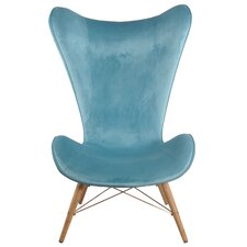 Benno Wingback Chair by Corrigan Studio