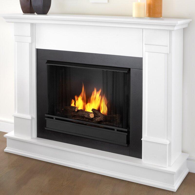 Fireplace Design gel fuel fireplaces : Real Flame Silverton Gel Fuel Fireplace & Reviews | Wayfair