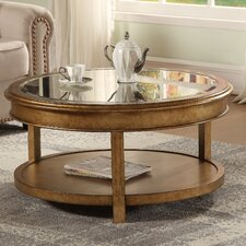 Hali Round Bevel Console Table by House of Hampton